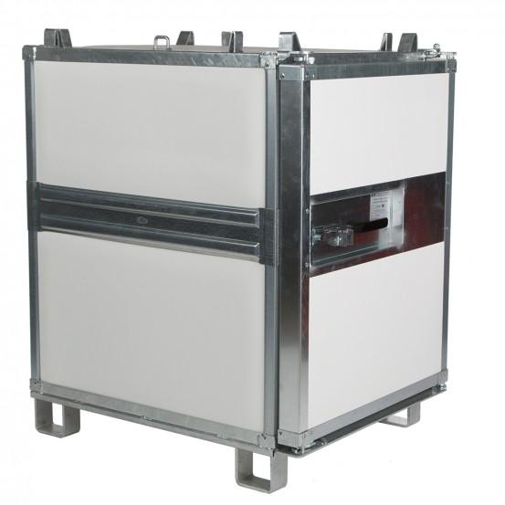 Verstärkte isolierte Container